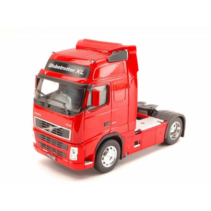 Macheta camion Volvo FH12 rosu, 1:32 Welly