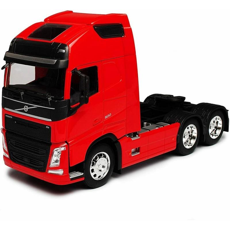 Macheta camion Volvo FH (4x2) rosu, 1:32 Welly