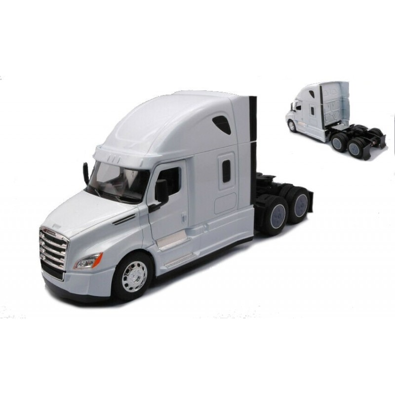 Macheta camion Freightliner Cascadia alb, 1:32 Welly