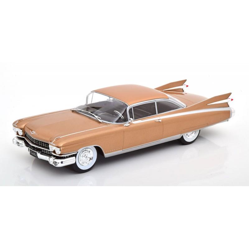 Macheta auto Cadillac Eldorado portocaliu, 1:24 Whitebox