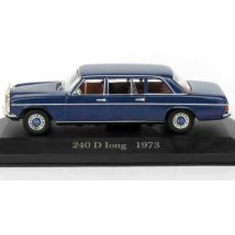 DEFECTA: Macheta auto Mercedes Benz 240D Long W115 1973, 1:43 Altaya/Ixo