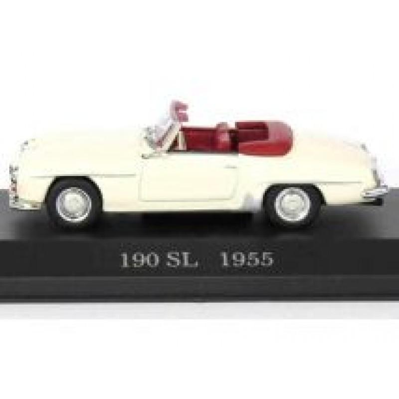 DEFECTA: Macheta auto Mercedes Benz 190SL Roadster W121 1955, 1:43 Altaya/Ixo