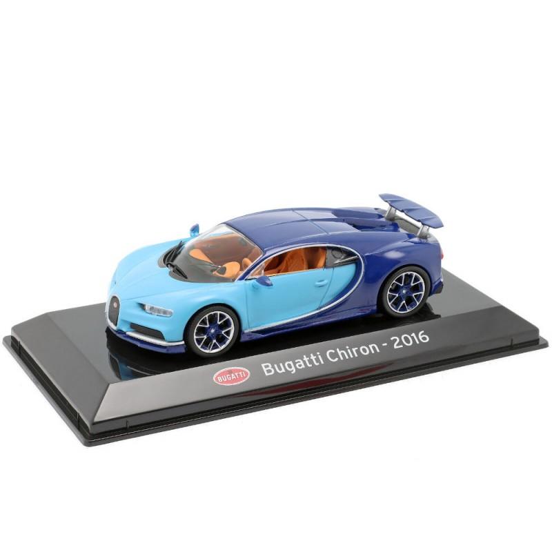 Macheta auto Bugatti Chiron 2016, 1:43 Ixo/Altaya