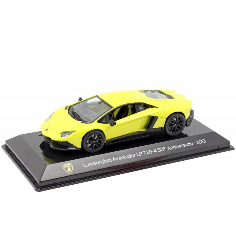 Macheta auto Lamborghini Aventador LP 720-4 2013, 1:43 Ixo/Altaya