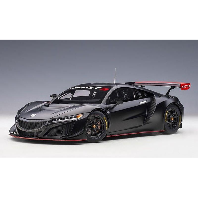 HONDA NSX GT3 (2018) 1:18 negru